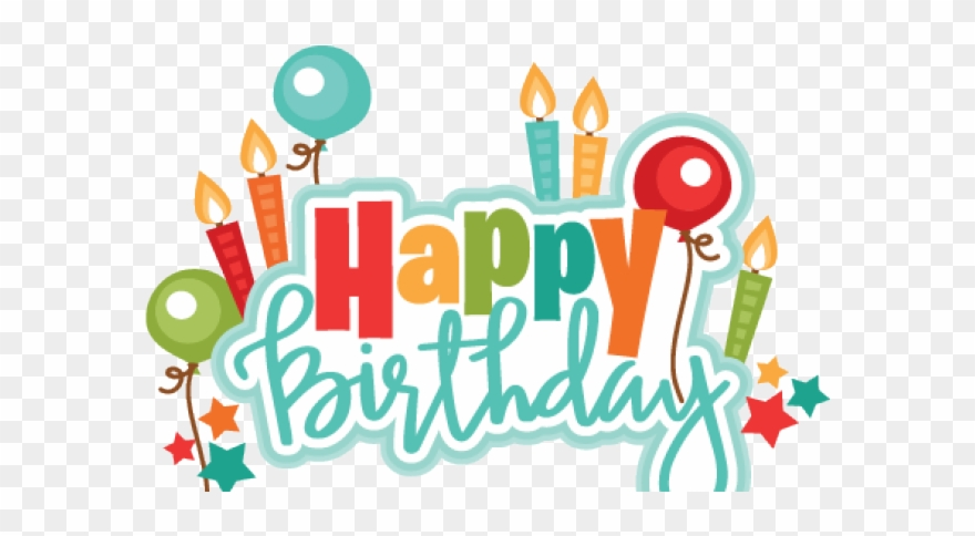 Birthday clipart png clipart library library Happy Birthday Clipart Scrapbook - Transparent Happy Birthday ... clipart library library