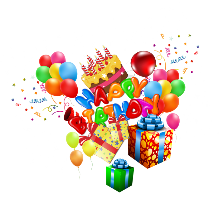 Birthday clipart png png library library Happy Birthday Clipart PNG Images Free Download searchpng.com png library library
