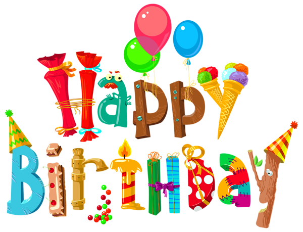 Birthday clipart png clip art free library Happy Birthday PNG images free download clip art free library