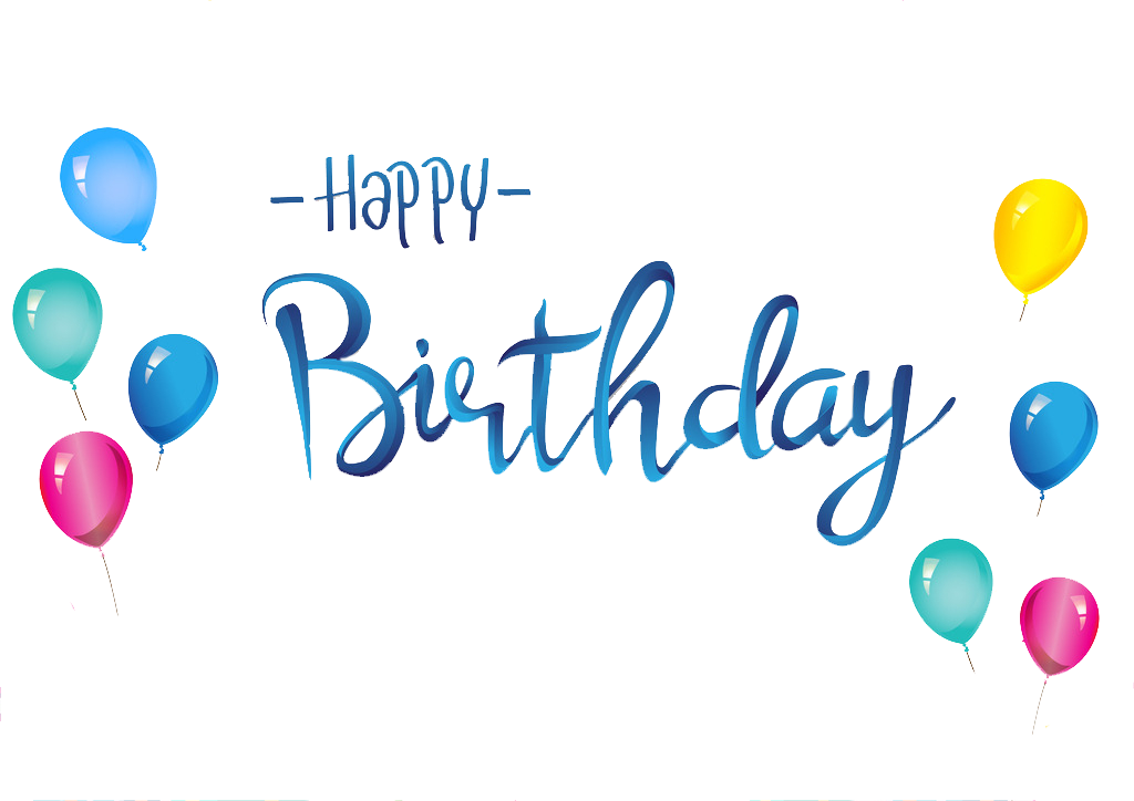 Birthday clipart word clipart transparent Pin by pngsector on Happy Birthday Transparent PNG image & Clipart ... clipart transparent