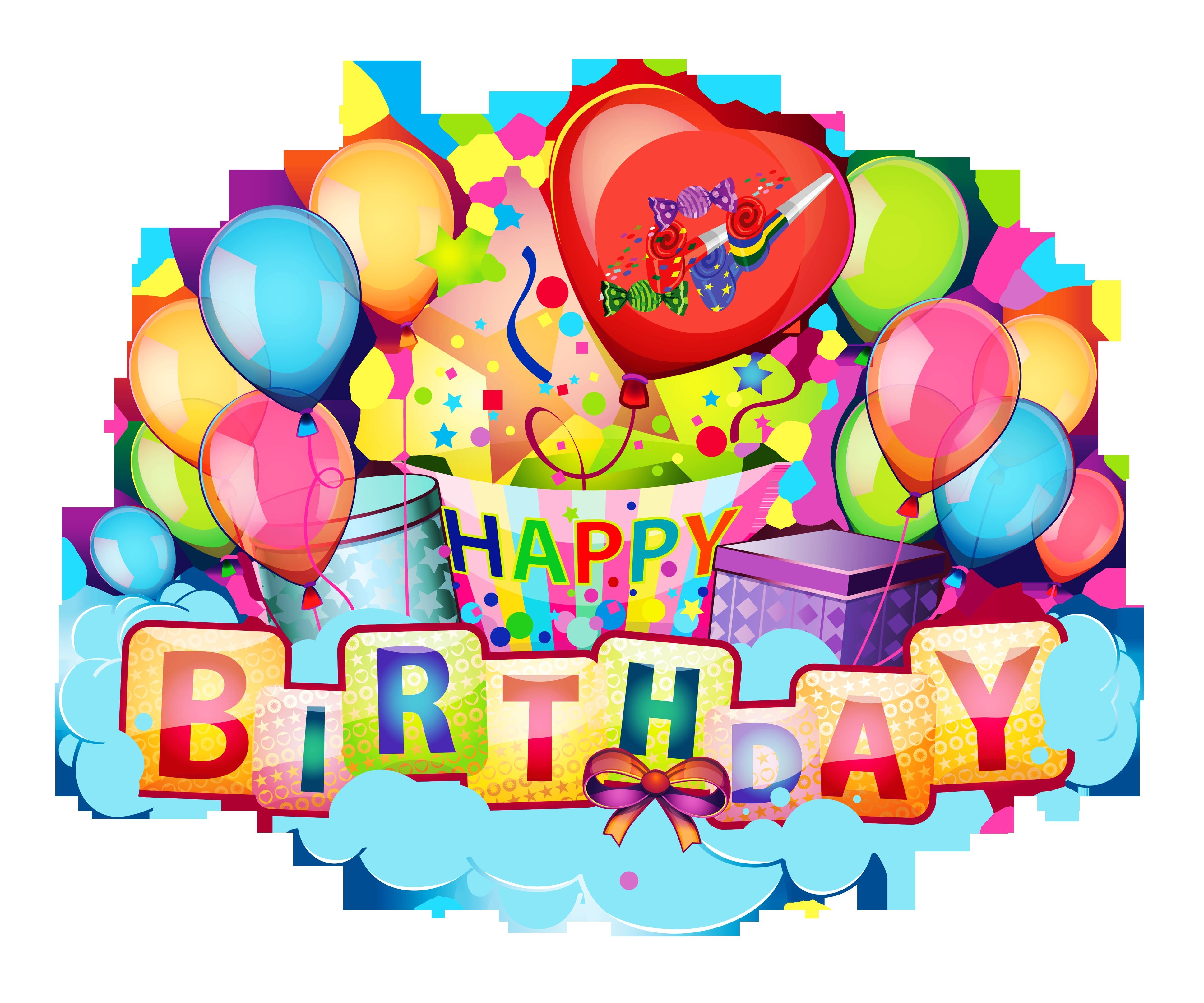 Happy birthday clipart for facebook – Gclipart.com clip art library stock