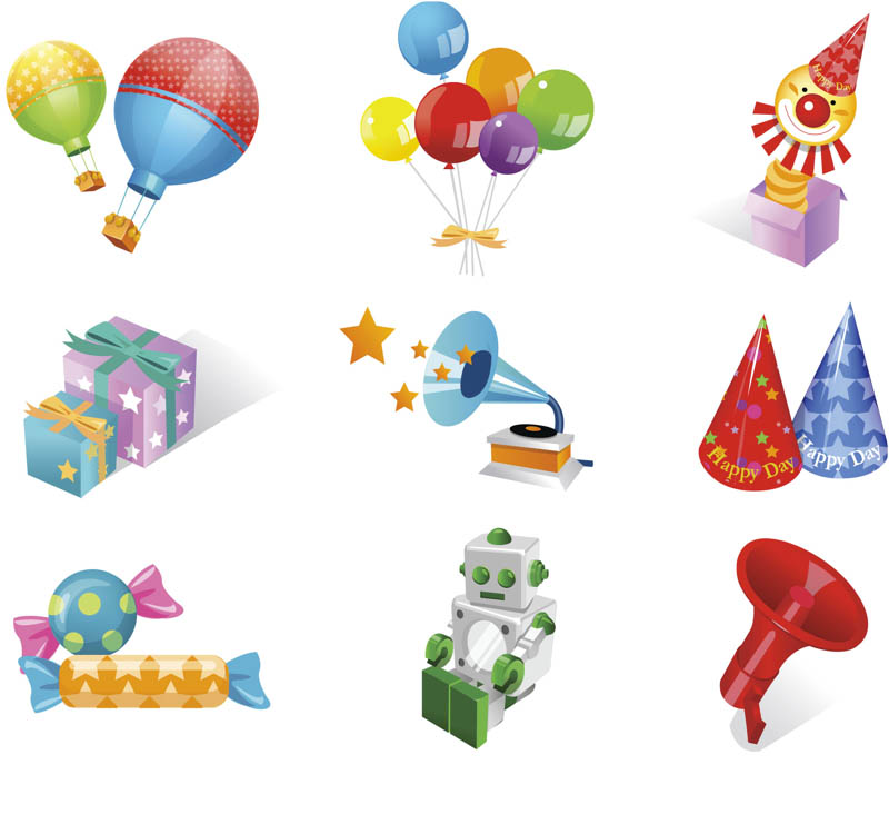 Birthday cliparts vector picture royalty free library Birthday vector clip art | Vector Graphics Blog picture royalty free library