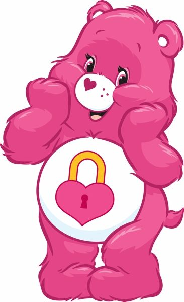 Birthday concern and care clipart jpg transparent library Shh! It\'s a secret! | Meet the Care Bears | Care bear party, Care ... jpg transparent library