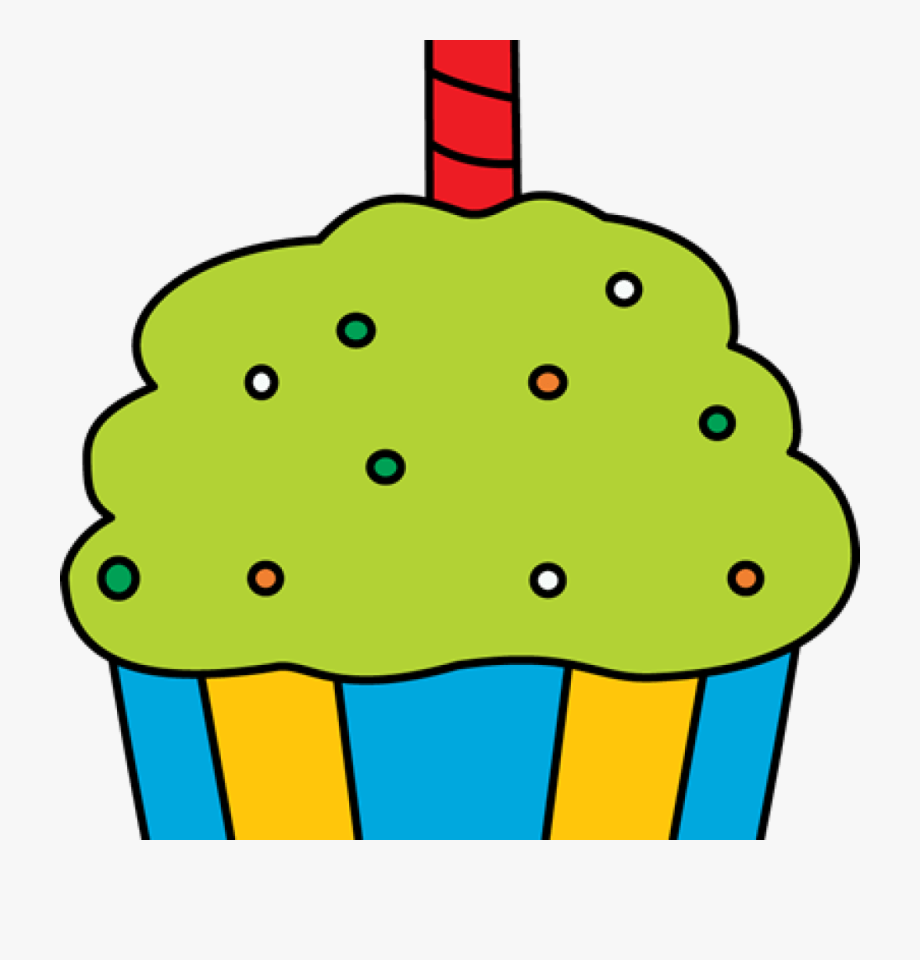 Birthday cupcake images clipart clip art royalty free library Birthday Cupcake Clipart Of 4709 Clip Art Digital - Birthday Cupcake ... clip art royalty free library