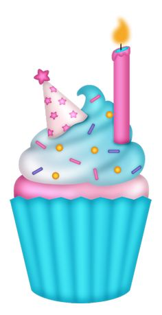 Birthday cupcake images clipart graphic freeuse download 342 Best Cupcake Clipart images | Cupcake illustration, Cupcake ... graphic freeuse download