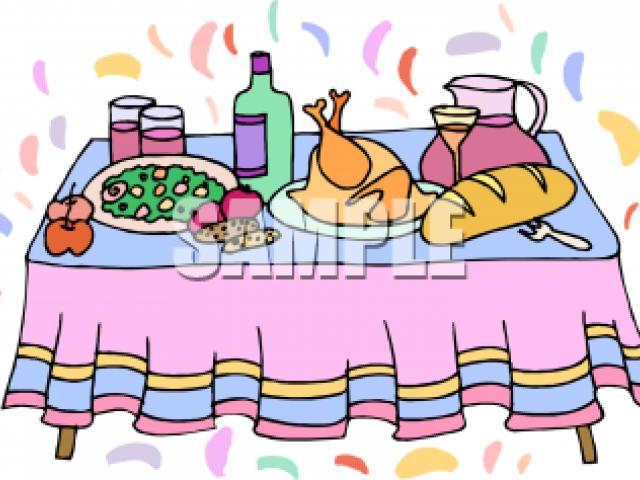 Birthday dinner clipart jpg royalty free library Birthday Dinner Cliparts 15 - 357 X 360 - Making-The-Web.com jpg royalty free library