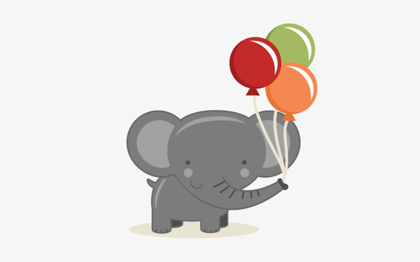 Birthday elephant images clipart image freeuse download Birthday Elephant Svg Cut File Birthday Svg Files Birthday ... image freeuse download