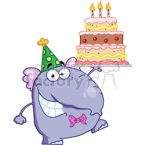 Birthday elephant images clipart picture free library cartoon-elephant-birthday-cake clipart. Royalty-free clipart # 384278 picture free library