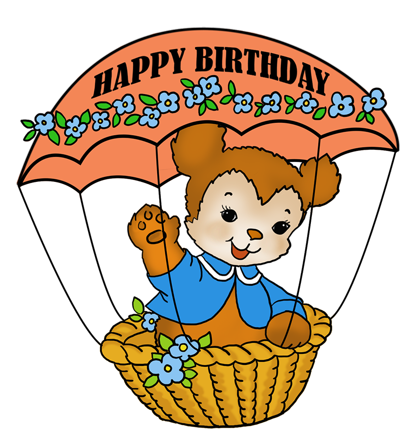Happy birthday cat clipart svg free stock Birthday Clip Art and Free Birthday graphics svg free stock