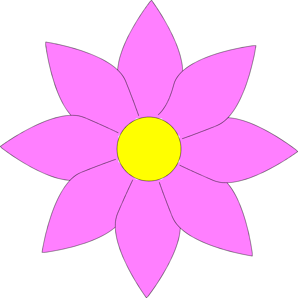 Purple lotus flower clipart vector transparent library Spring Flower Clipart at GetDrawings.com | Free for personal use ... vector transparent library