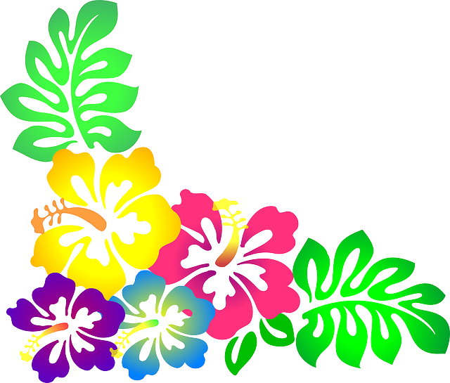Moana flower clipart picture freeuse download flower-307569_640.png (640×545) | luau | Pinterest | Cricut, Planner ... picture freeuse download