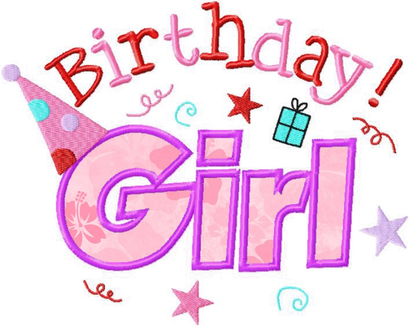 Birthday girl text clipart png transparent stock Free Birthday Girl Images, Download Free Clip Art, Free Clip Art on ... png transparent stock