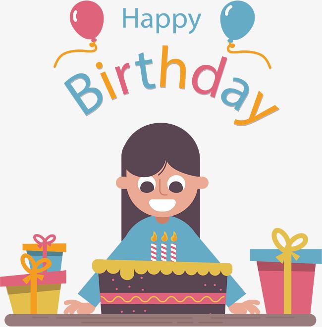 Birthday girl text clipart vector free download Free Happy Birthday Girl PNG Transparent Happy Birthday Girl.PNG ... vector free download