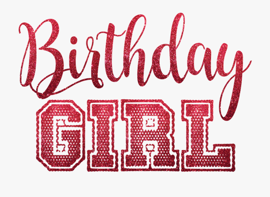Birthday girl text clipart vector black and white library Clip Art Free Shop Of Library Buy - Birthday Girl Png Text, Cliparts ... vector black and white library