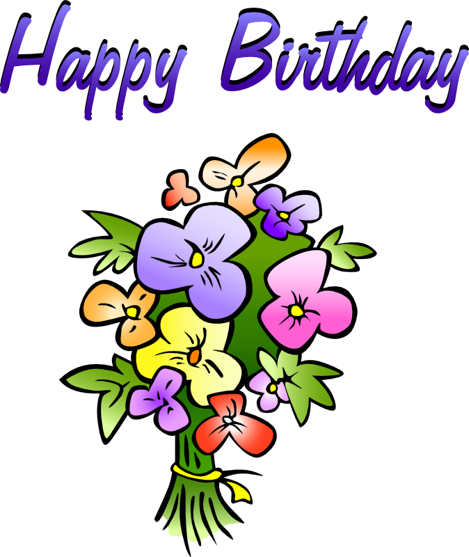 Old fashioned happy birthday to a friend clipart image library download Free Birthday Clipart, Animations & Vectors image library download