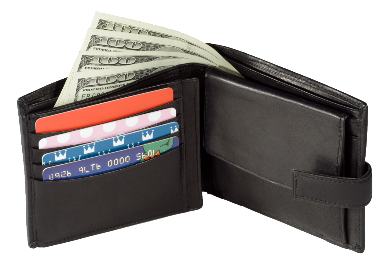 Clipart taking money out of wallet image library library Black Wallet PNG Image - PurePNG | Free transparent CC0 PNG Image ... image library library