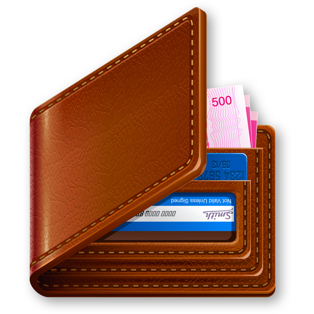Clipart taking money out of wallet picture black and white library Wallet With Money Transparent PNG Pictures - Free Icons and PNG ... picture black and white library