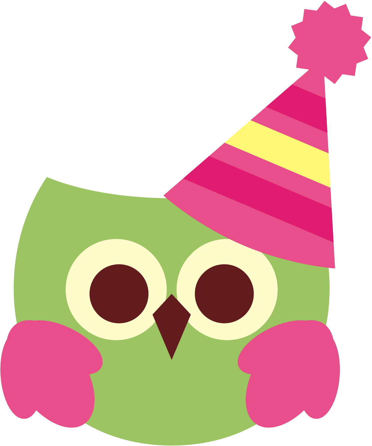 Birthday owls clipart picture freeuse library Cute birthday owl free clipart | revidevi.wordpress.com picture freeuse library