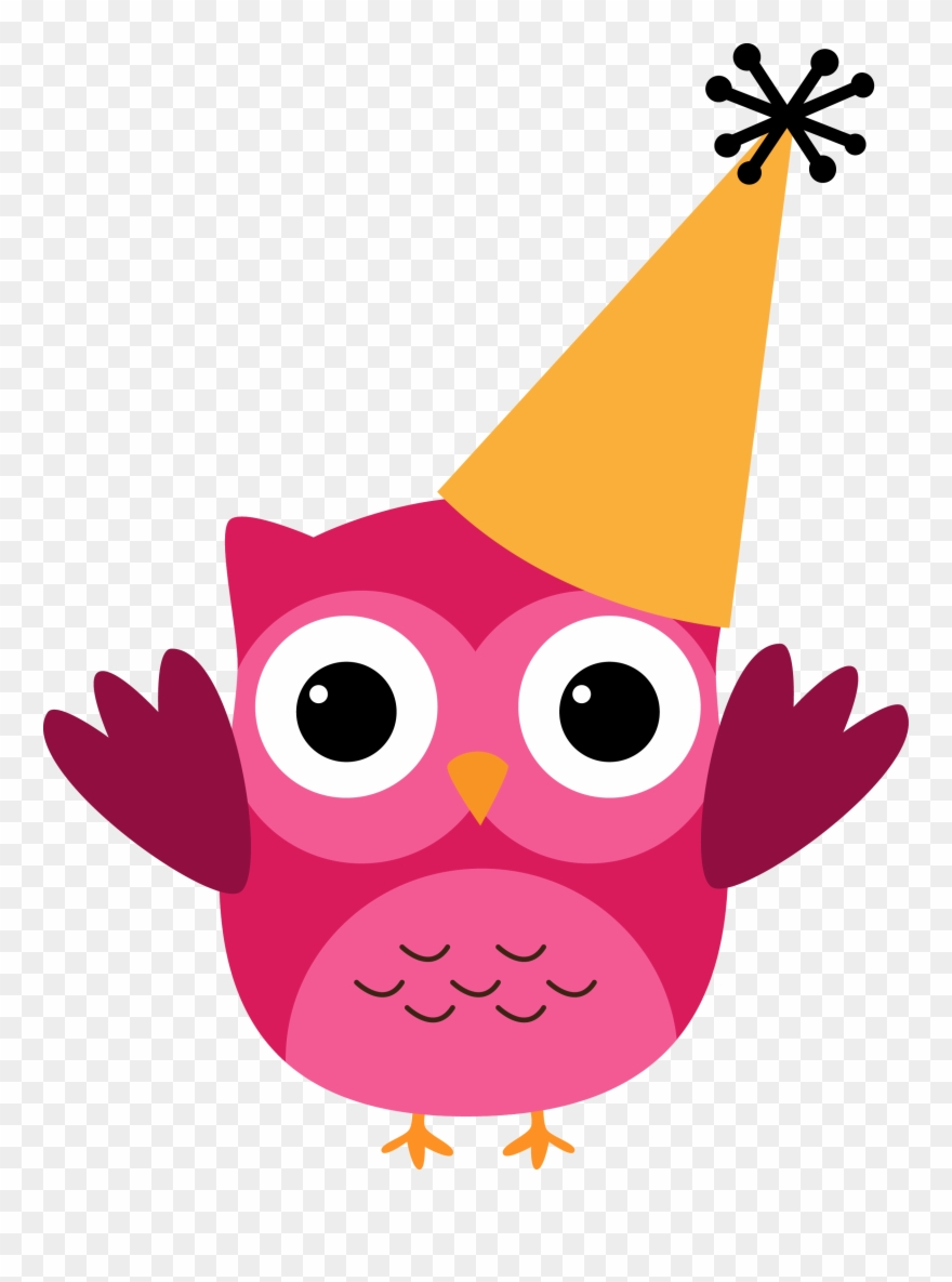 Birthday owls clipart png free library 2013 Resolutions For Kids - Owl Birthday Clipart - Png Download ... png free library