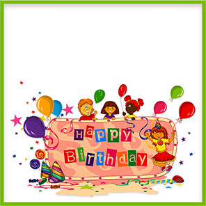 Birthday party boarders clipart clip library download Free Birthday Borders - Happy Birthday Border Clip Art clip library download