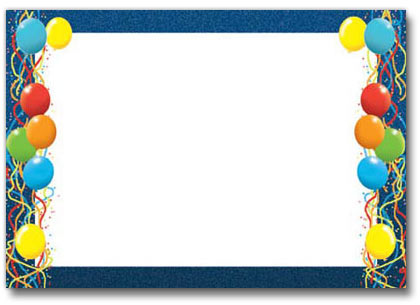 Birthday party clipart borders transparent download Free Birthday Borders For Microsoft Word, Download Free Clip Art ... transparent download