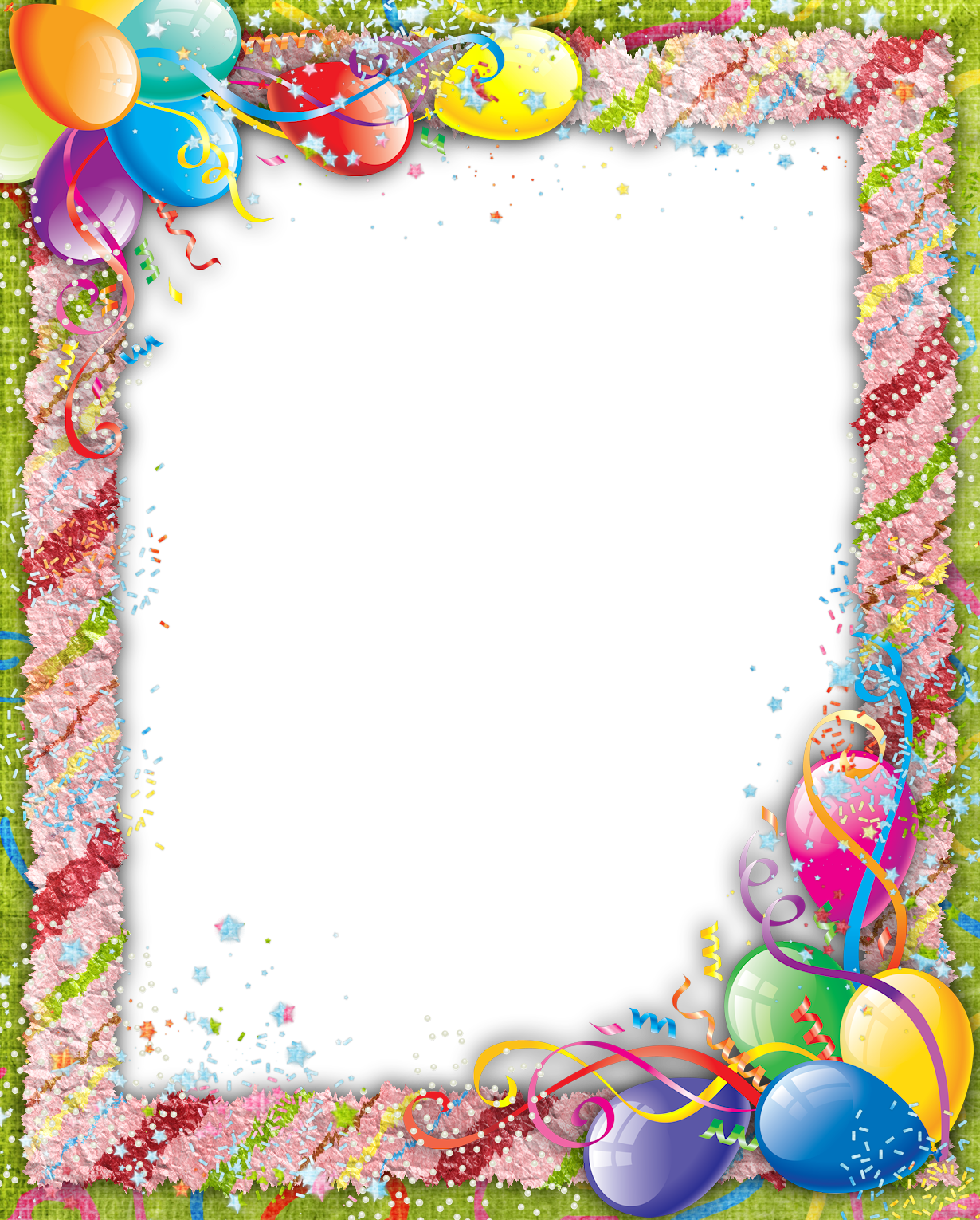 Birthday picture frame clipart image royalty free library Pin by Ahmed Elsayad on Transparent | Birthday frames, Birthday ... image royalty free library