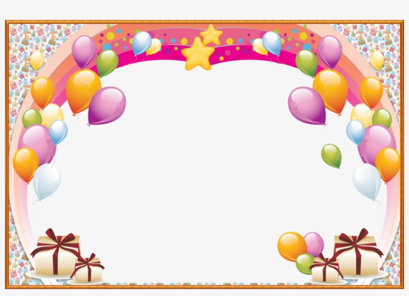 Happy birthday frames and borders clipart clipart black and white stock Birthday Png Frame Clipart Birthday Picture Frames - Happy Birthday ... clipart black and white stock