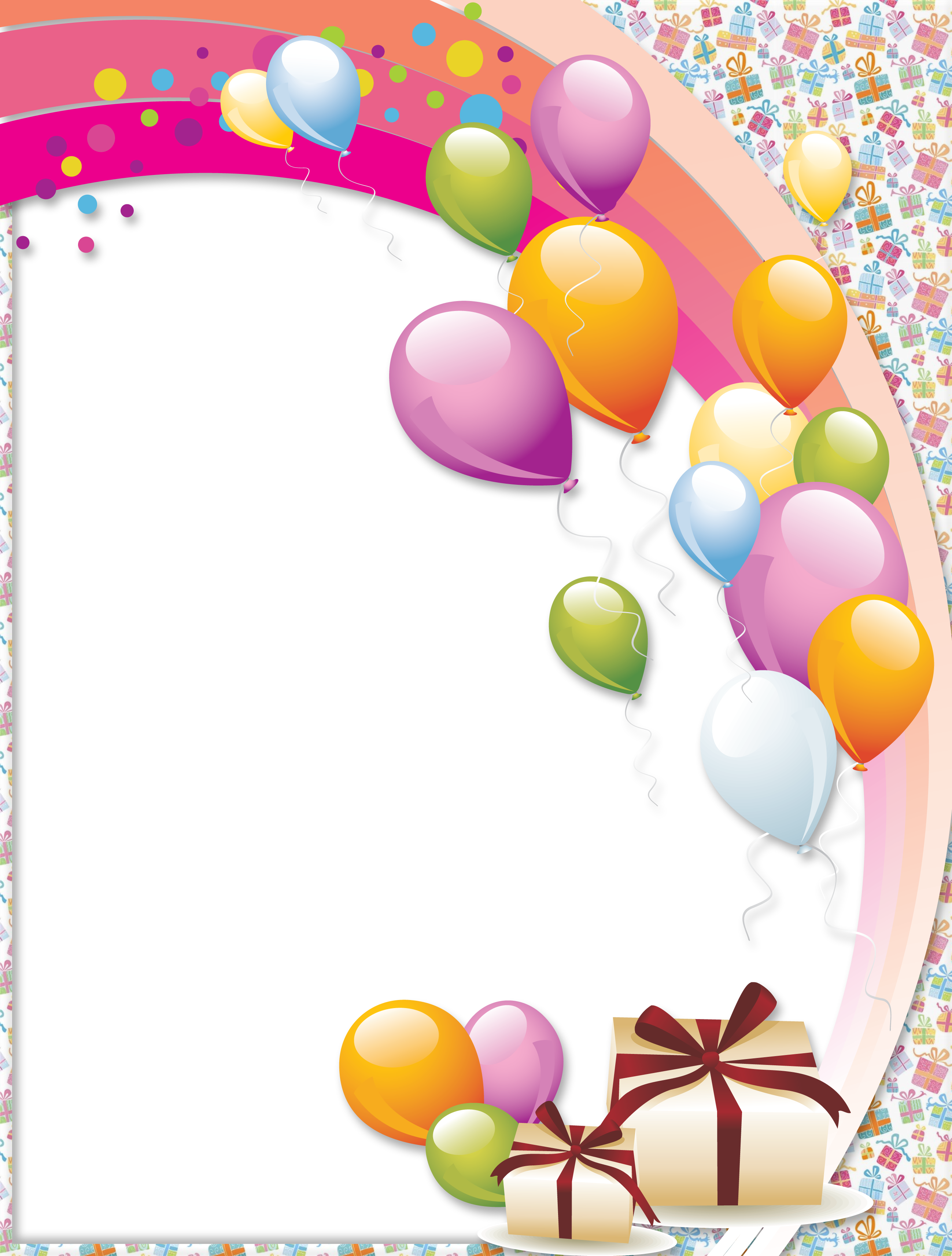 Birthday picture frame clipart svg library stock Free Birthday Frames, Download Free Clip Art, Free Clip Art on ... svg library stock