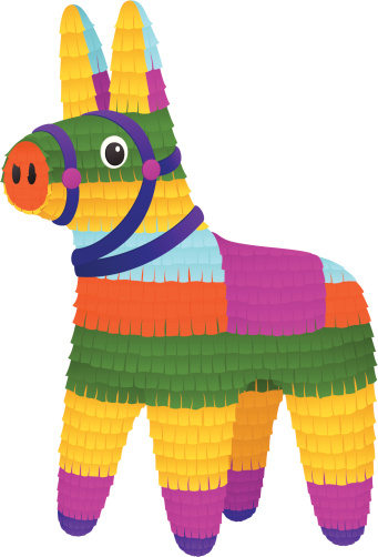 Birthday pinata clipart picture transparent stock Free Donkey Pinata Cliparts, Download Free Clip Art, Free Clip Art ... picture transparent stock