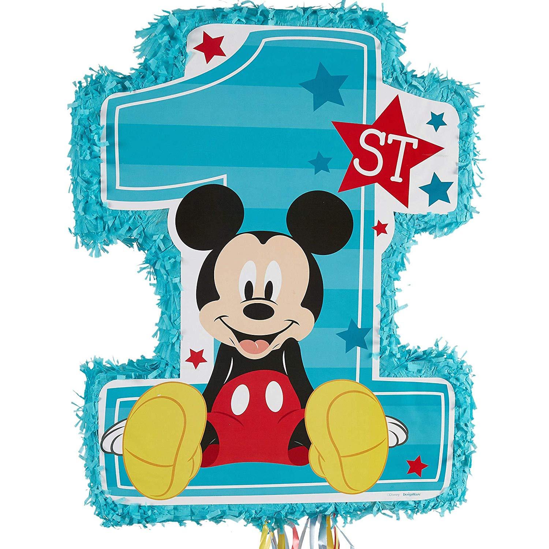 Birthday pinata clipart vector freeuse stock Mickey Mouse 1st Birthday Pinata vector freeuse stock