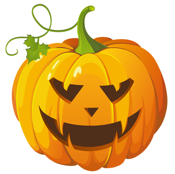 Free gold pumpkin clipart clipart library Large Transparent Halloween Pumpkin Clipart | Gallery Yopriceville ... clipart library
