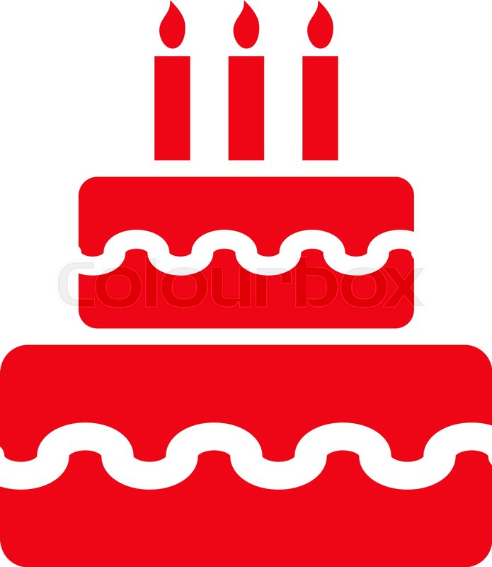 Birthday red cake clipart image download Birthday cake clip art birthday symbol - 15 clip arts for free ... image download