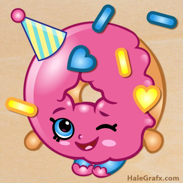 Birthday shopkins clipart clip art library Free shopkins clipart - ClipartFest clip art library