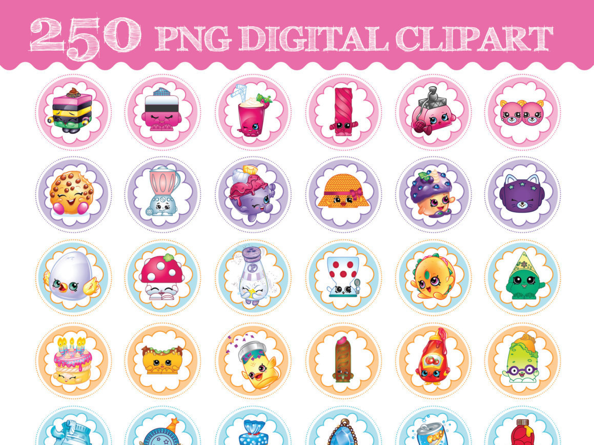 Birthday shopkins clipart transparent background png transparent library Birthday shopkins clipart transparent background - ClipartFest png transparent library