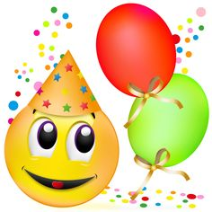 48 Best emojis happy birthday images in 2017 | Emoticon, Smiley ... png transparent stock