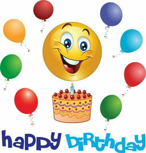 happy birthday! | pattern | Happy birthday emoji, Birthday smiley ... jpg stock