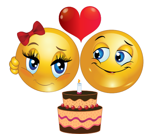 Smiley face happy birthday clipart clip royalty free 6 Animated Emoticons Couple Images - Happy Birthday Smiley Face Clip ... clip royalty free