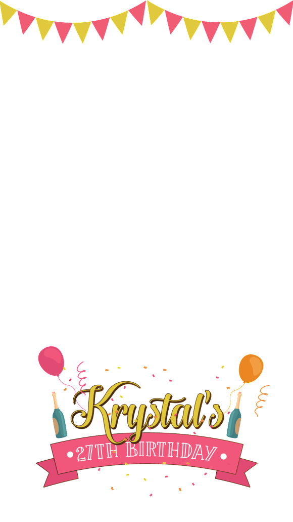 Birthday snapchat filter clipart vector black and white library How to make a birthday filter on snapchat clipart images gallery for ... vector black and white library