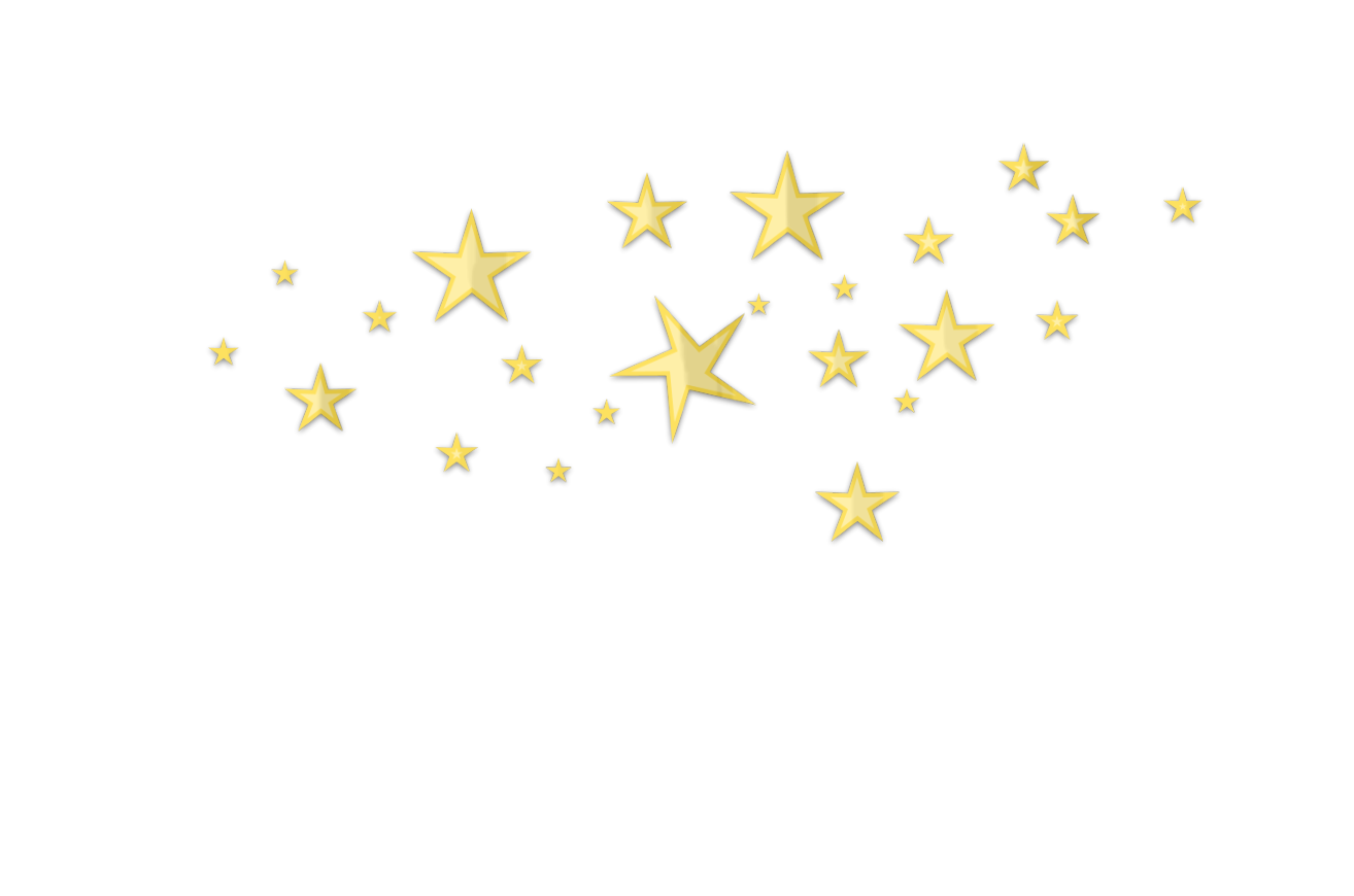 Star garland clipart clip freeuse stock Star D Clutter Gold No Back | Free Images at Clker.com - vector ... clip freeuse stock
