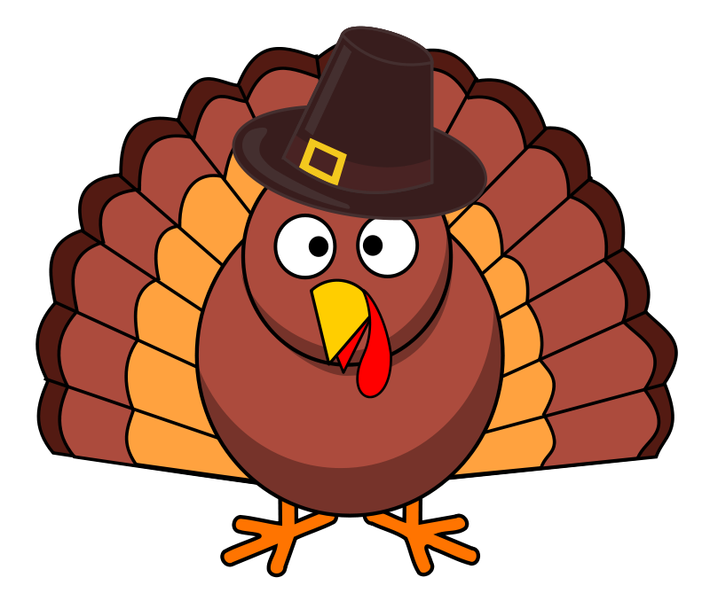 Easy to draw turkey clipart jpg royalty free download Turkey Silhouette Clip Art Free at GetDrawings.com | Free for ... jpg royalty free download