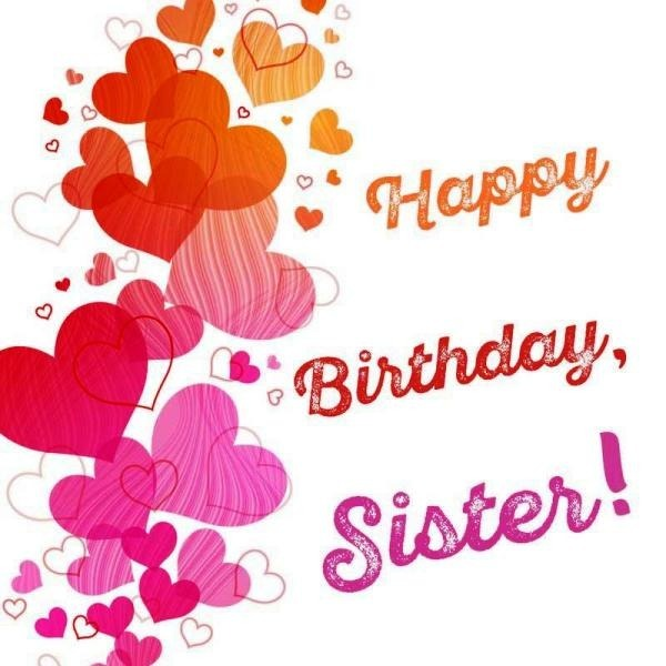 Birthday wishes for sister clipart svg Birthday Wishes for Sister Pictures, Images, Graphics svg