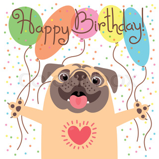 Birthday with dog clipart png transparent Happy birthday dog clipart 6 » Clipart Station png transparent