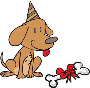 Free birthday clipart pets jpg vector transparent library Free Birthday Clipart Image 0527-1511-0407-4956   Dog Clipart vector transparent library