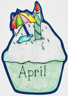 April birthday month clipart clip freeuse stock April Birthday Clipart | salaharness.org clip freeuse stock