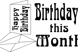 Birthdays of the month clipart png library download Birthdays of the month clipart » Clipart Portal png library download