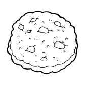 Clipart black and white chocolate chip cookie image download Cookie Clip Art Black And White | Clipart Panda - Free Clipart Images image download