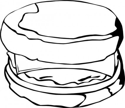 Biscuits and gravy clipart black and white png transparent download Free Chicken Biscuit Cliparts, Download Free Clip Art, Free Clip Art ... png transparent download