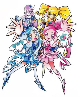 Bishie sparkle clipart png library stock HeartCatch Pretty Cure! (Anime) - TV Tropes png library stock