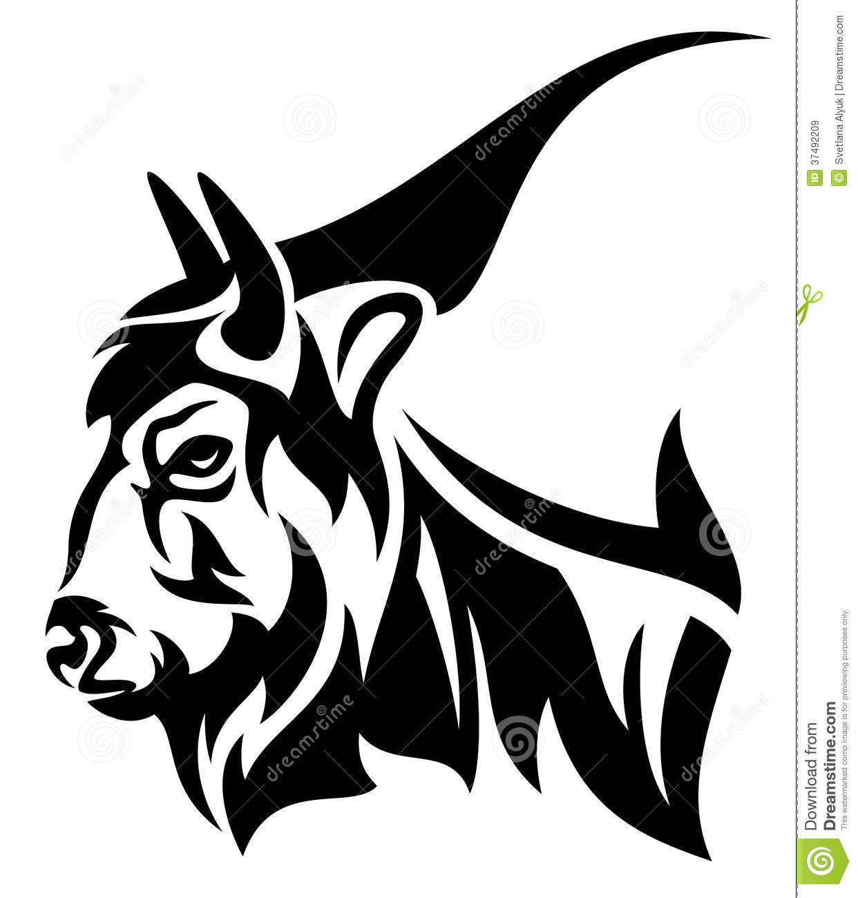 Bison head clipart clip art library stock Bison head clipart 4 » Clipart Portal clip art library stock