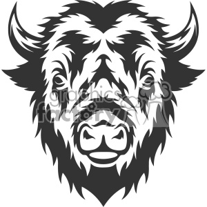 Buffalo head mascot clipart clip art download bison clipart - Royalty-Free Images | Graphics Factory clip art download